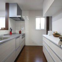 ローコスト住宅山口のキッチン防府の画像