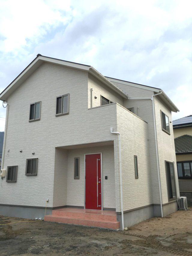 ローコスト住宅山口防府の外観