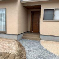 ローコスト住宅山口平屋の玄関
